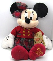"""Disney Store Minnie Mouse 2016 Christmas Holiday Plush Toy Exclusive 16""""... - $37.99"""