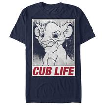 Lion King Simba Cub Life Mens Graphic T Shirt - $10.99