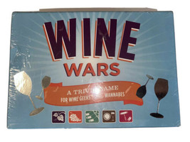 Wine Wars: A Trivia Game for Wine Geeks and Wannabes NEW Sealed - $19.75