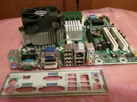 HP Pine Row Motherboard SP# 587302 AS# 581499 Intel Core 2 Duo E7500 2.9... - $49.99