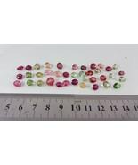 Multicolor Oval Eye Clean Tourmaline gemstone 38 Pcs 38Ct lot sale whole... - $277.20