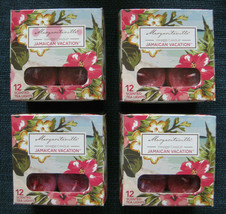 Lot of 4 Yankee Candle Margaritaville Jamaican Vacation Tea Lights 12/Bo... - $40.00