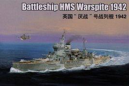 Trumpeter Kit  05325 1/350 Battleship HMS Warspite 1942 version image 1