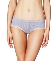 NEW Heidi Klum Intimates Peony Dots Lace Trim Seamless Hipster Bikini Panty NWT image 2