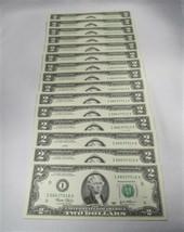 15 Consecutive 2003 $2 Federal Reserve Notes Gem Crisp New Uncirculated ... - $86.04
