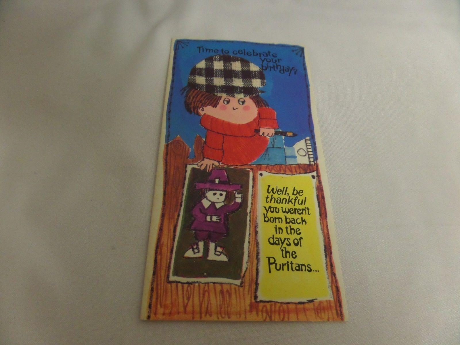 Vintage Laurel American Greetings Card Happy And Similar Items
