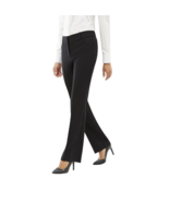 Worthington Straight Leg Perfect Trousers Size 4 Black New Msrp $44.00  - $16.99