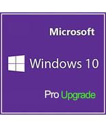 Windows 10 Pro Professional Upgrade Key 32/64 Bit - $7.50