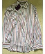 Paul Smith London Ls Multi Strisce Camicia Classica Fit 17/43 p2p 57.1cm - $126.23