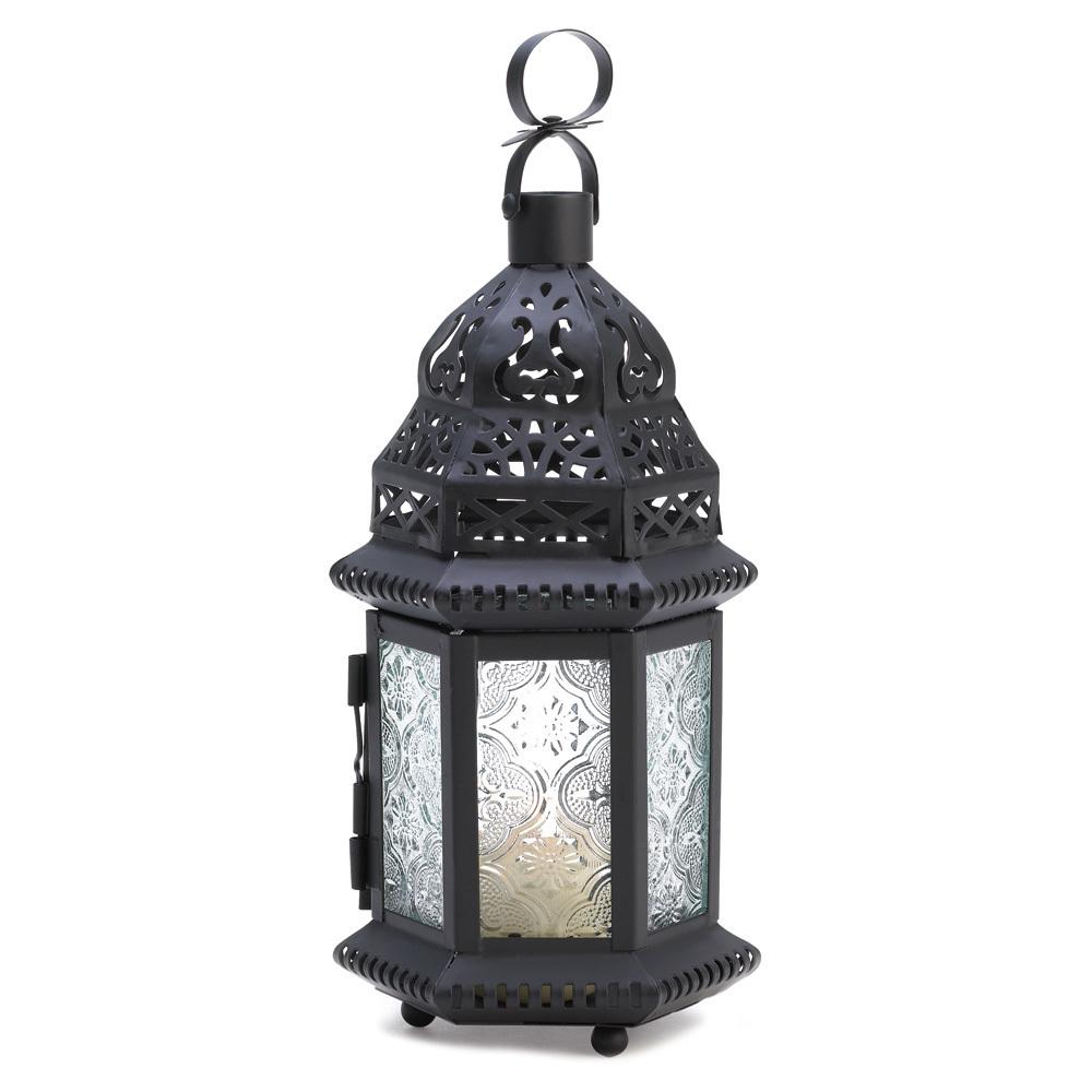 Winter Fire Candle Lantern 10014118