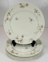 "Theodore Haviland Pink Spray Pattern 10 3/8"" PLATE, Lot of 6 - $79.99"