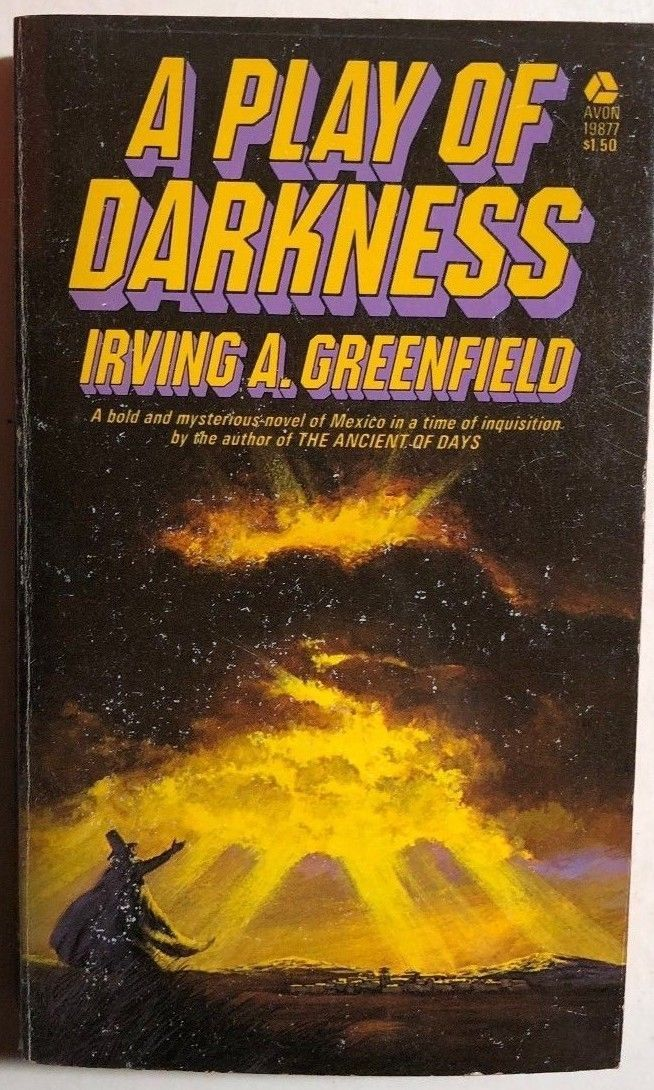 Primary image for A PLAY OF DARKNESS by Irving A. Greenfield (1974) Avon fantasy pb 1st
