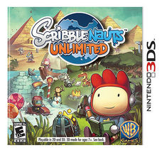 Scribblenauts Unlimited (Nintendo 3DS, 2012) Video Game Cartridge Only - €14,90 EUR