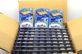 81pc 2000 First Editions Hot Wheels Blast Lane Motorcycle Mattel 096 Die... - $144.91