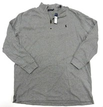 New With Tags Polo By Ralph Lauren Grey 1/4 Zip Sweater Men's Size 3XLT Tall - $98.95