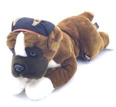 Harley-Davidson Plush Saint Bernard 2003 Motorcycle Dog Stuffed Animal Toy - $14.86