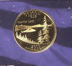 2005-S 25 Cent Proof State Quarter - Oregon - George Washington - $5.95