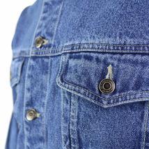 Star Jean Men's Classic Premium Button Up Cotton Denim Jean Jacket Blue image 3