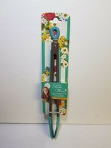 PIONEER WOMAN COLLECTION AQUA SILICON AND STAINLESS SERVING TONGS - $24.99