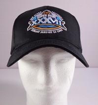 Reebok NFL San Diego Black Super Bowl XXXVII Hat Adjustable Strap 2003 - $29.95