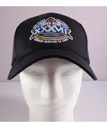 Reebok NFL San Diego Black Super Bowl XXXVII Hat Adjustable Strap 2003 - $29.95