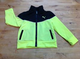 Puma Baby Boys' Jacket, Black/Yellow, Size 2T - $16.82