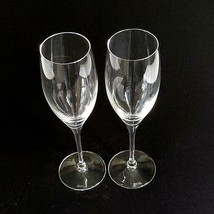 2 (Two) RIEDEL VINUM Lead Free Crystal Fluted Champagne Glass - Signed image 2