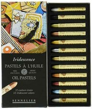 SENNELIER Senurie oil pastel pearl 12 color set - $49.08