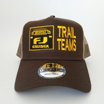 New Era 9forty TOYOTA FJ CRUISER TRAIL TEAMS BROWN HAT CAP - $25.99