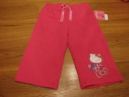 Ragazze Hello Kitty HK55151 Active Pantaloni 4 Rosa Nwt ^^ - $15.45