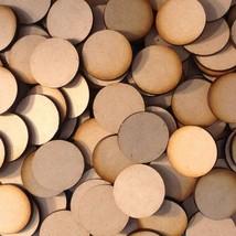 30mm x20 Round MDF Wood Bases Laser Cut Crafts Wargames Miniatures FAST ... - $2.96
