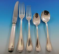 Malmaison by Christofle Silverplate Flatware Service Set 40 Pieces France - $2,395.00