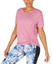 Ideology Women's Side-Tie Blouse T-Shirt Tops - $22.96+