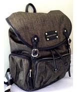 NWT Adrienne Vittadini Golden Olive Nylon Backpack w/ Workbook Sleeve Ba... - $70.80