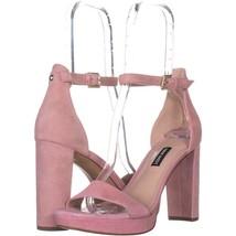 Nine West Dempsey Ankle Strap Dress Sandals 994, Light Pink, 8.5 US - $23.99