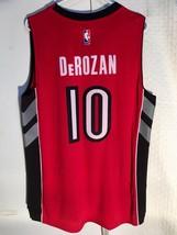Adidas Swingman Jersey Toronto Raptors DeMar DeRozan Red sz S - $79.19