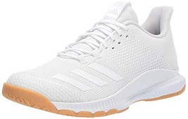 adidas Women's Crazyflight Bounce 3 Volleyball Shoe, White/White/Gum, 10... - $89.38