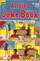 Archie's Joke Book Comic Book #131 Archie Comics 1968 VERY GOOD+ - $4.75