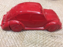 Vintage AVON Red Volkswagen OLand After Shave Collectible bottle - $5.00