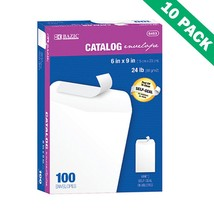 Sealing Envelopes, 10 Unit Case Of White Catalog Envelopes Self Seal (10... - $168.39