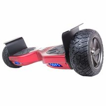 "Heavy Duty Red Metal 8.5"" All Terrain Off Road Bluetooth Hoverboard Scooter - $324.99"