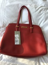 Kenneth Cole Ladies Red Dual Zipper Purse NWT - $27.69