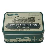 BarOwCo Toy Train in A Tin 16 Piece Plastic Toy Train Set in Collectible... - $10.35