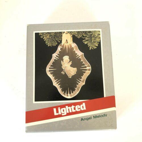 Hallmark Keepsake Magic Ornament 1989 Angel Melody Lighted New in Box image 3