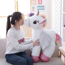 Adorable Soft Giant Stuffed Plush Animal Horses Toys for Doll Lover Chil... - $22.99+