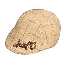 Yellow Hat Unisex Baby Sun Hat Infant Cotton Cap Toddler Beret Cap Great Gift image 2