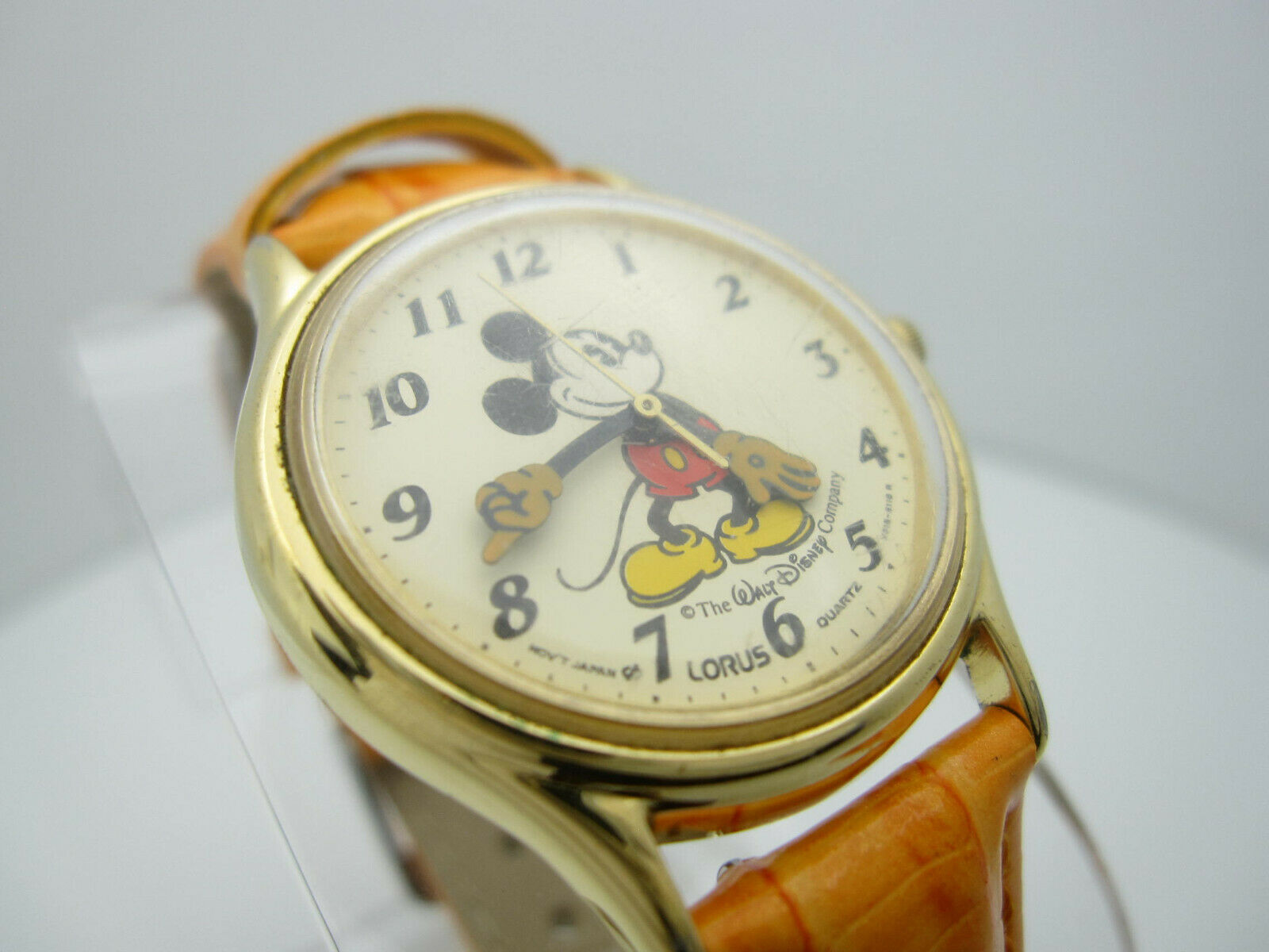 Vintage Mickey Mouse Quartz WR Analog Dial Watch (B956) V515-6118R image 9