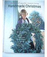 MARTHA STEWART LIVING HANDMADE CHRISTMAS BOOK - $12.00