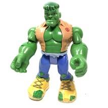 "Hulk Figure Playwell 7"" Incredible Marvel Action 2002 - $6.97"
