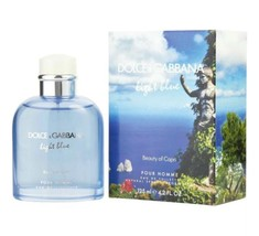 Dolce & Gabbana Light Blue Beauty Of Capri Pour Homme Cologne 4.2 Oz EDT Spray image 1